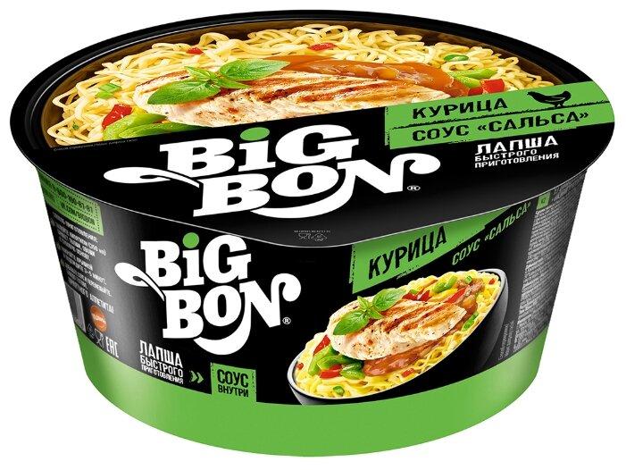 BIGBON Лапша Курица + соус Сальса 85 г