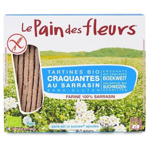 Хлебцы гречневые Le Pain des fleurs диетические без соли, 150 г