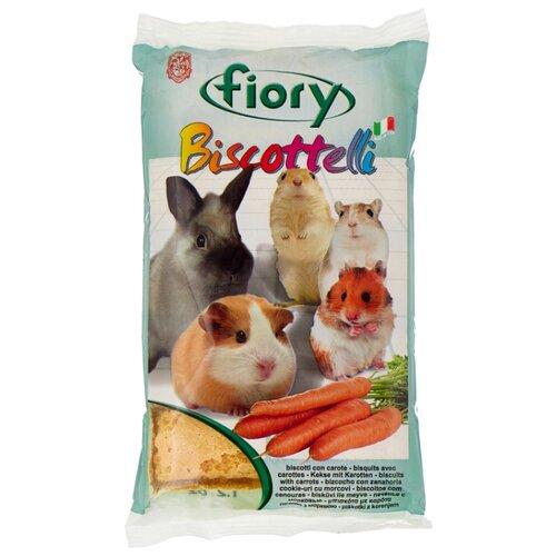 Лакомство для грызунов Fiory Biscottelli с морковью 30 г fiory fiory бисквиты для грызунов biscottelli с ягодами 35 г