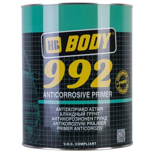Грунт-праймер HB BODY 992 серый 5 л