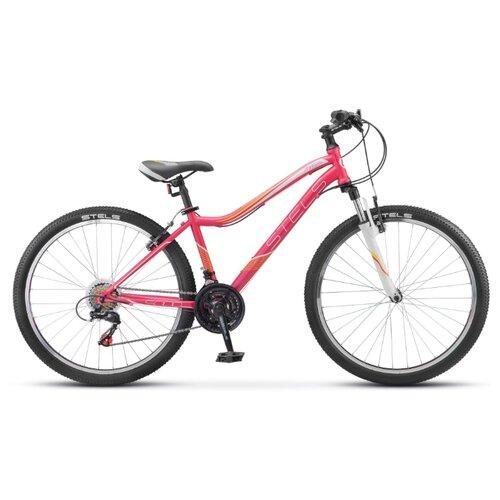 цена на Горный (MTB) велосипед STELS Miss 5000 V 26 V040 (2018) розовый 15 (требует финальной сборки)