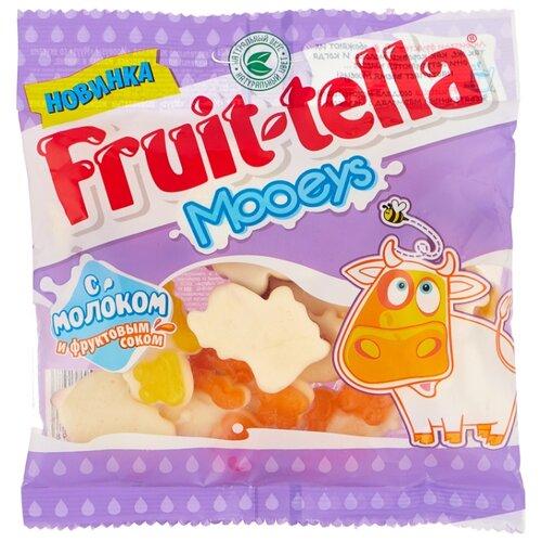 Жевательный мармелад Fruittella Mooeys с молоком и фруктовым соком 138 г мармелад fruittella крутой микс 70 г