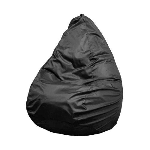 Пуффбери кресло-мешок Груша Оксфорд XXXL черный оксфорд
