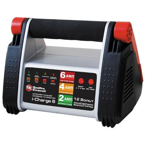 Зарядное устройство Quattro Elementi i-Charge 6 (771-145) черный/красный зарядноеустройство quattroelementi 770 094 bc12m 12в 12а