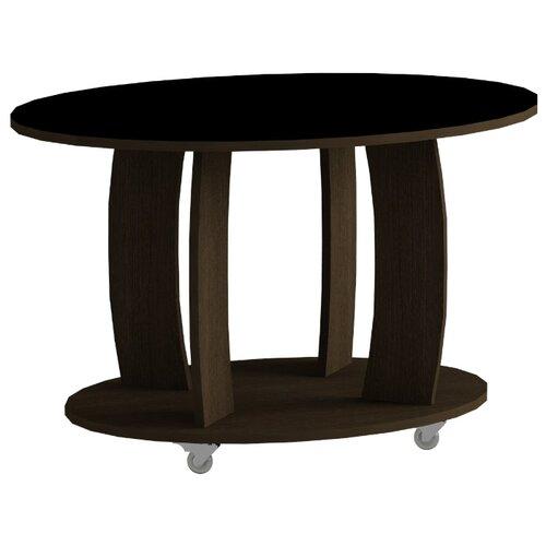 детские столы и стулья leset стол журнальный ls 747 корпус венге Стол журнальный LS 738 02.01 (корпус-венге,стекло-черный)