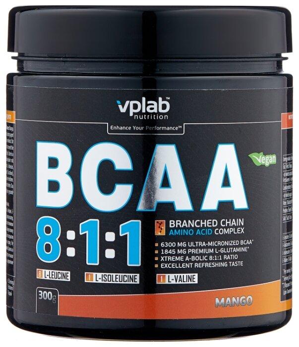 Купить BCAA vplab BCAA 8:1:1 (300 г) по низкой цене с доставкой из Яндекс.Маркета
