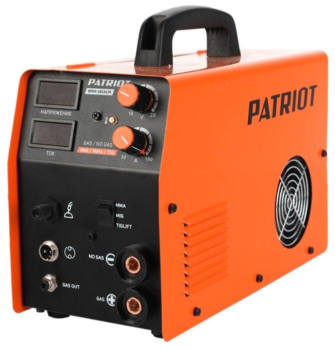 Сварочный аппарат PATRIOT WMA 185ALM (TIG, MIG/MAG, MMA)