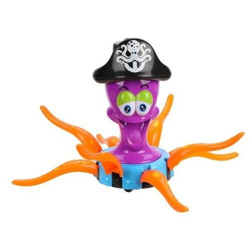 Развивающая игрушка Наша игрушка Осьминог-пират LD-146A фиолетовый игрушка наша игрушка бульдозер 6655 5