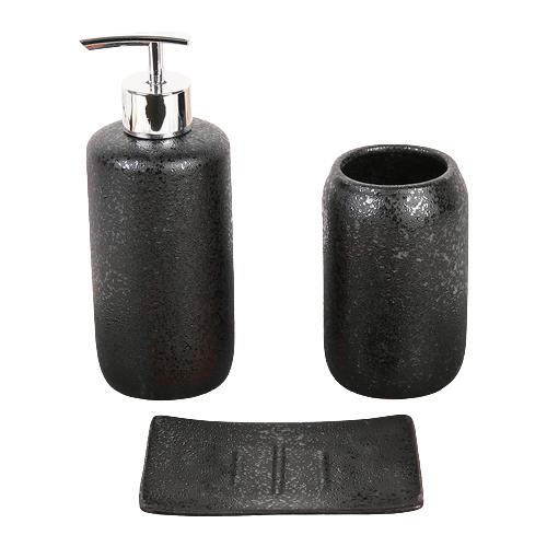 Фото - Набор для ванной Доляна Венера, черный набор для ванной доляна грация 2698471 персиковый