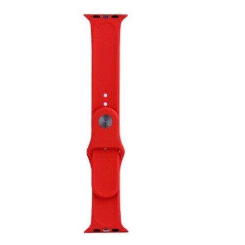 EVA Ремешок спортивный для Apple Watch 42/44mm красный