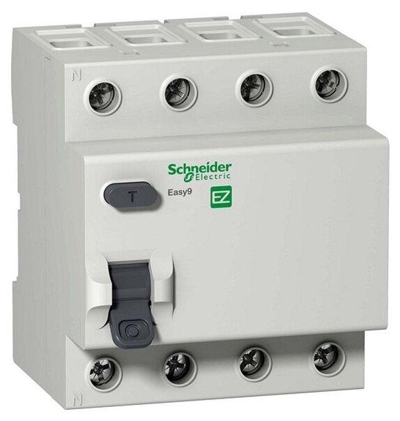 УЗО Schneider Electric 30мА тип AC EZ9R344 4 полюса