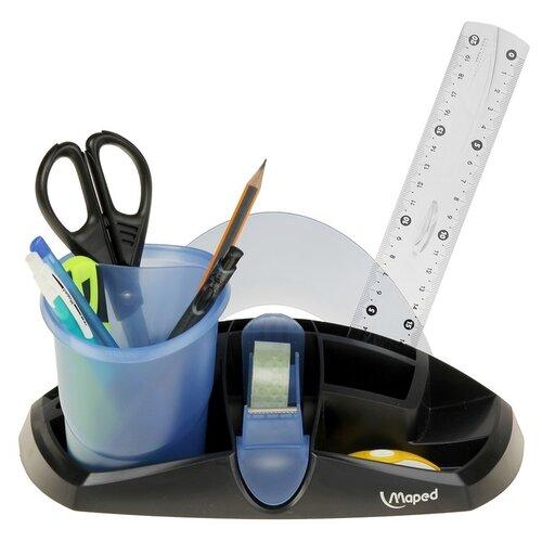 Канцелярский набор Maped Essentials (751215), 9 пр. maped нож канцелярский maped universal plastic 8мм
