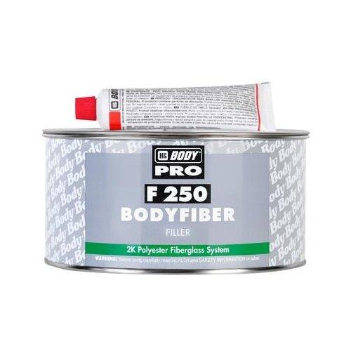 Комплект (шпатлевка, отвердитель) HB BODY PRO F250 Bodyfiber 1.5 кг