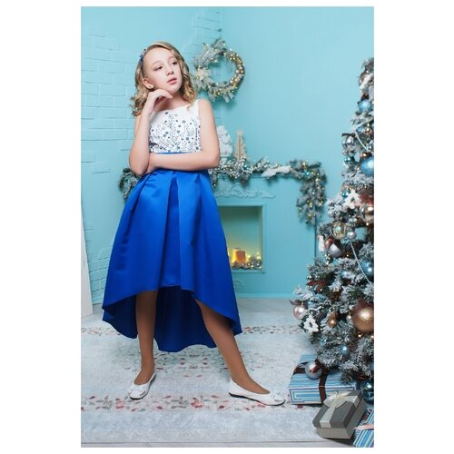 Купить Платье Ladetto размер 32-134, электрик, Платья и сарафаны