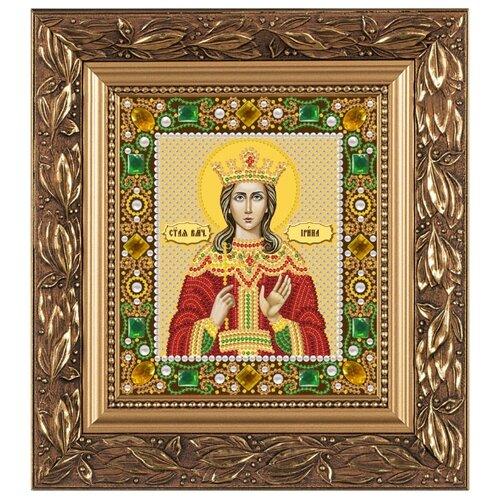 Купить NOVA SLOBODА Набор для вышивания бисером иконы Св. Великомученица Ирина Македонская 13 х 15 см (Д6155), Наборы для вышивания