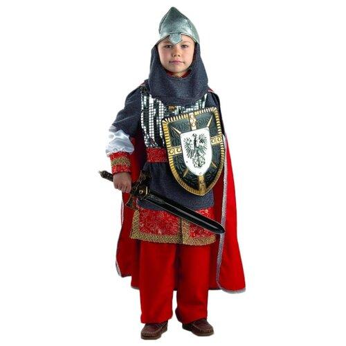 Купить Костюм Батик Витязь (903), красный/серый, размер 128, Карнавальные костюмы