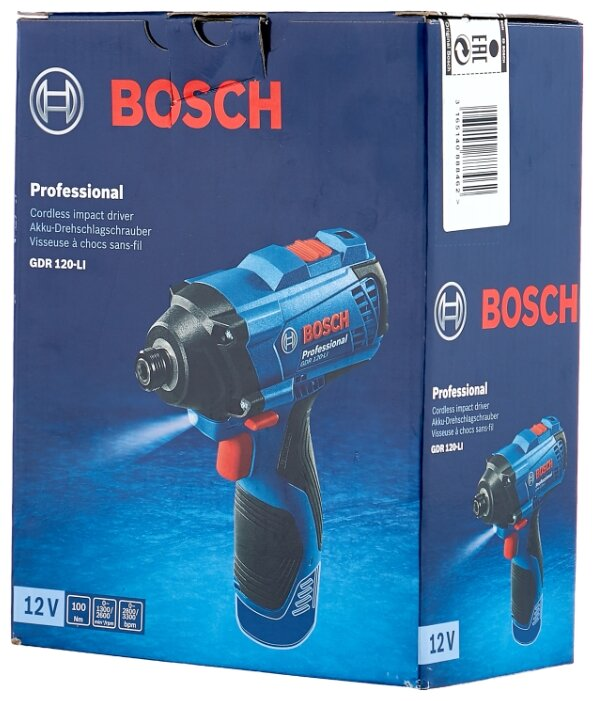Гайковерт BOSCH GDR 120-LI 0 Box