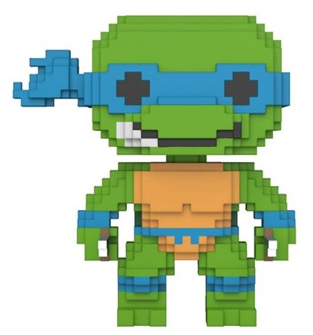 Фигурка Funko POP! Черепашки-ниндзя - Леонардо 8 бит 22981