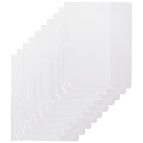 Купить №1 School Набор обложек для учебников 230×365 мм, 110 мкм, 10 штук бесцветный, Обложки