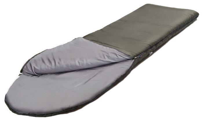 Спальный мешок Nova Tour Карелия -5, левосторонняя молния, 96591, темно-зеленый, размер XXL (195 см)