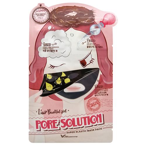 Elizavecca Pore Solution Super Elastic Mask Pack Трехэтапная маска для сужения пор, 25 мл eunyul маска очищающая для сужения пор pore tightening radiance pack 100 мл