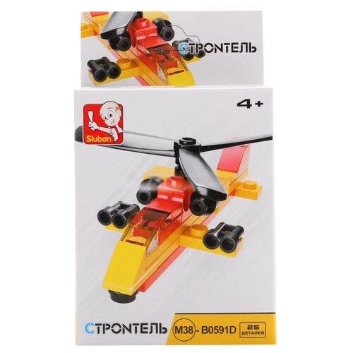 Купить Конструктор SLUBAN Builder M38-B0591D Вертолет, Конструкторы