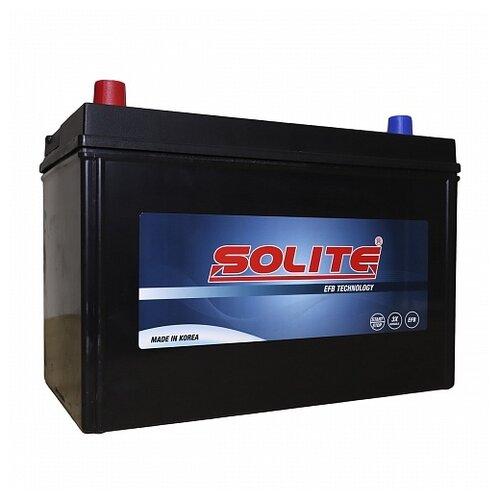 Автомобильный аккумулятор Solite EFB Т110R автомобильный аккумулятор solite cmf 78 750