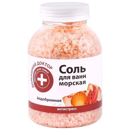 Домашний доктор Соль для ванн йодобромная 1000 г