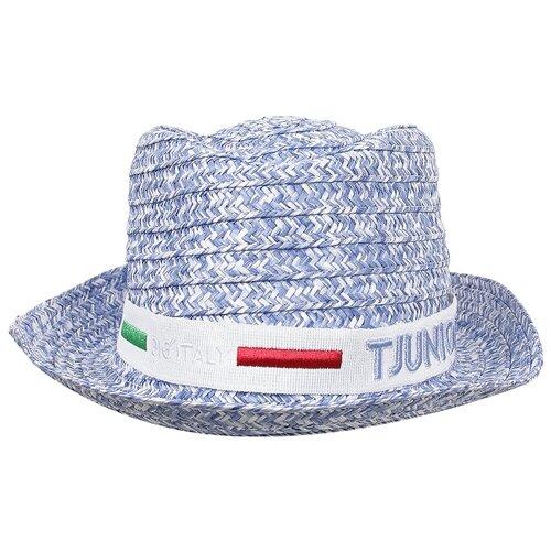 Купить Шляпа IL Trenino размер 58, голубой, Головные уборы