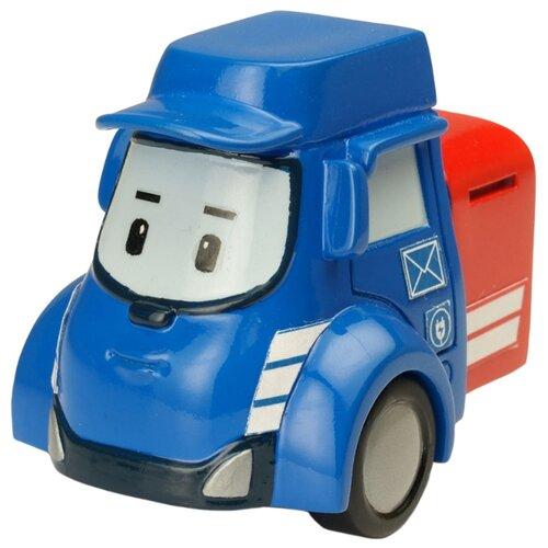 Купить Фургон Silverlit Робокар Поли Пости (83178) 6 см синий/красный, Машинки и техника