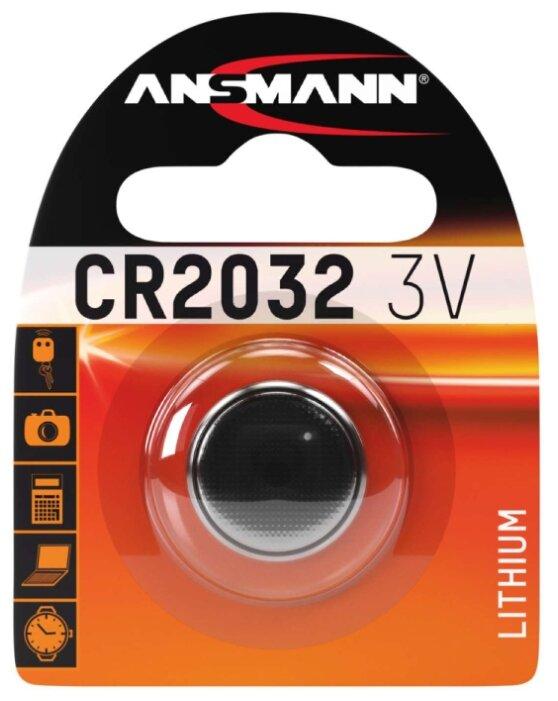 Батарейка ANSMANN CR2032
