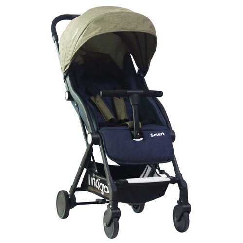 Купить Прогулочная коляска Indigo Smart серый, Коляски