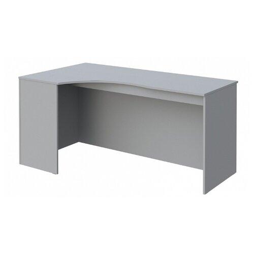 Письменный стол угловой Skyland Simple SE, 160х90 см, угол: слева, цвет: серый