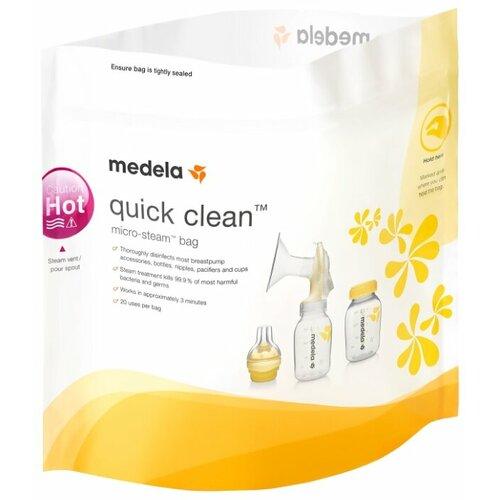 Купить Пакеты для стерилизации Medela Quick Clean, Стерилизаторы