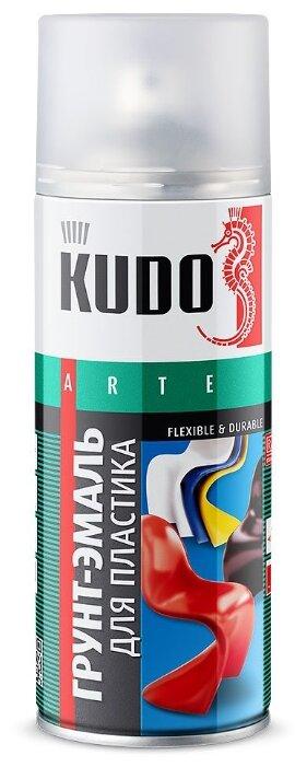 KUDO Грунт-эмаль для пластика