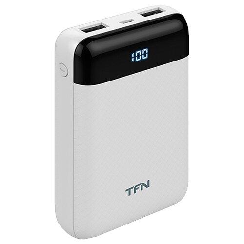 Аккумулятор TFN Mini LCD 10000 мАч, белый