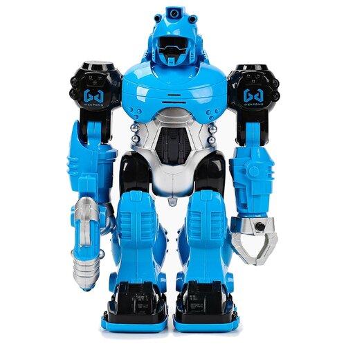 Купить Робот Three Stars Thunderbird 606 голубой/черный, Роботы и трансформеры
