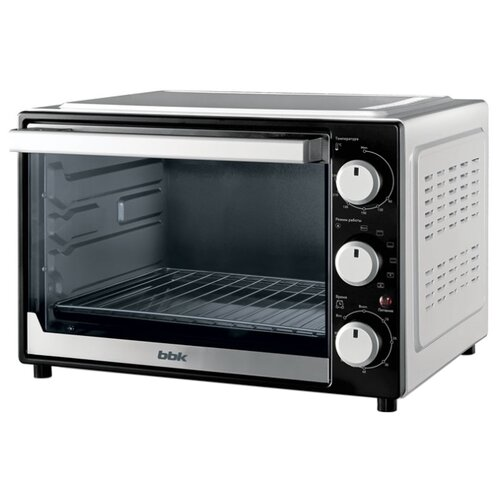 Мини-печь BBK OE3072MC черный/белый