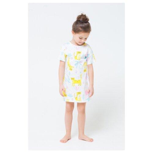 Купить Сорочка crockid размер 134, сочный лимон, Домашняя одежда