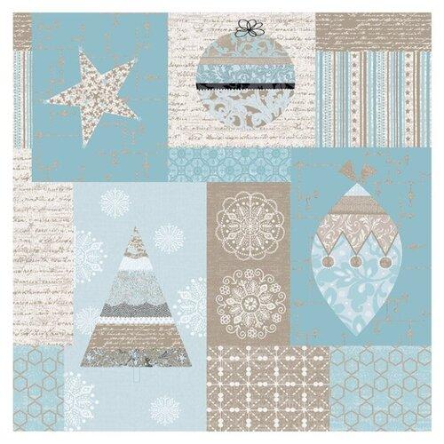 Ткань STOF PEPPY (P - W) для пэчворка 4497 фасовка 50 x 55 см 146±5 г/кв.м Новый год 001