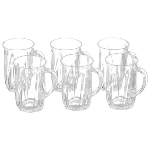 Luminarc Набор чайных чашек Эликсир 6 шт 160 мл прозрачный со эликсир купить