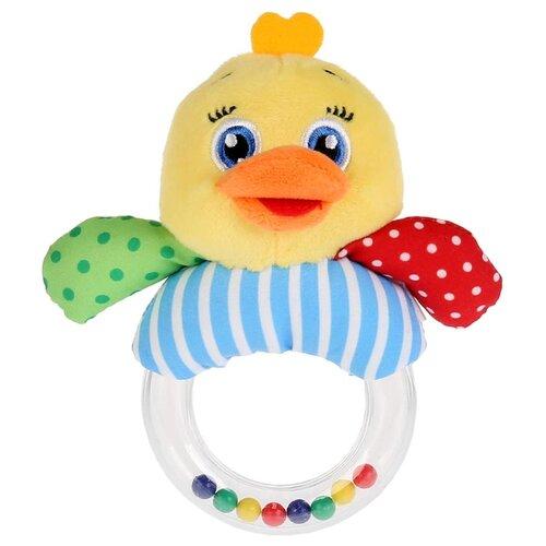 Купить Погремушка Умка На кольце RBR-СH желтый/голубой, Погремушки и прорезыватели