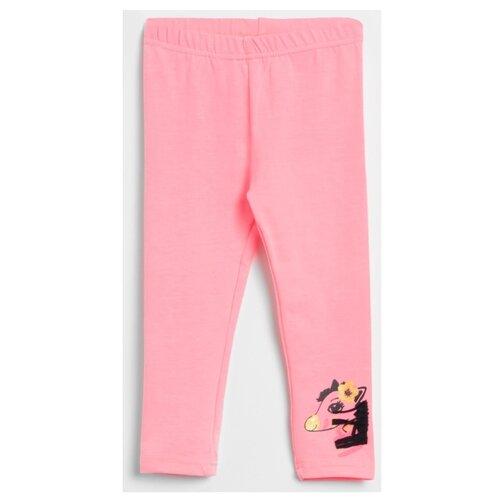 Легинсы COCCODRILLO Hello W20122103HEL размер 86, розовый бриджи coccodrillo hello sweetie w19122301hel размер 86 розовый