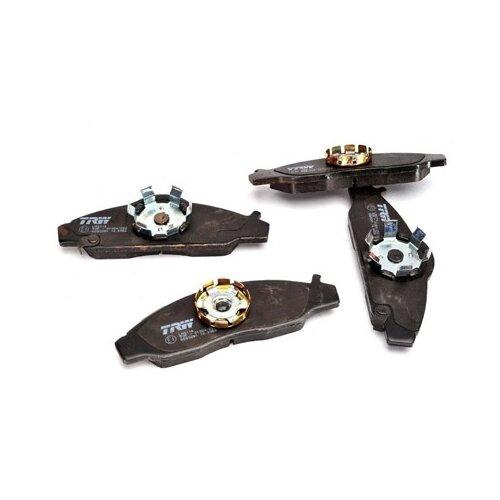 Дисковые тормозные колодки передние TRW GDB3281 для Daewoo Korando, Daewoo Musso, Ssang Yong Korando, Ssang Yong Musso (4 шт.) фото