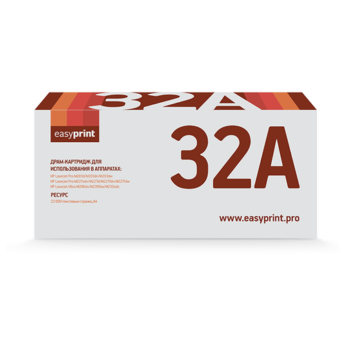 Фото - Картридж EasyPrint DH 32A, совместимый картридж easyprint lp 411 совместимый
