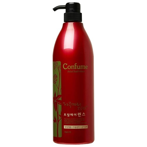 Welcos кондиционер для волос Confume Total Hair Rinse c касторовым маслом, 950 мл