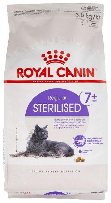 Стоит ли покупать Корм для стерилизованных пожилых кошек Royal Canin 7+ для профилактики МКБ 3.5 кг? Выгодные цены на Яндекс.Маркете