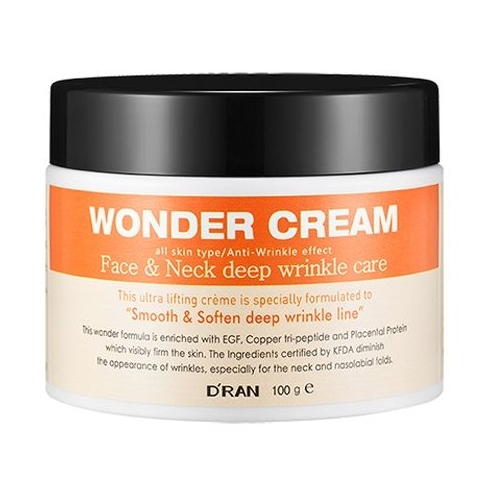 D'RAN Wonder Cream Face & Neck Deep Wrinkle Care Крем для лица и шеи против глубоких морщин