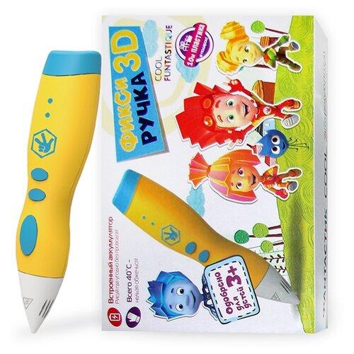 3D-ручка Funtastique FIXI COOL желтый недорого