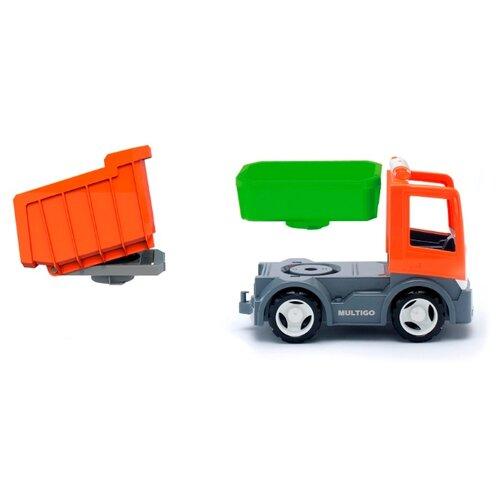 Грузовик Efko 37011EF-CH 22 см оранжевый/зеленый/серый недорого